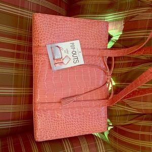 Liz Claiborne purse with 3 pop-outs.